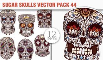 Sugar Skulls Vector Pack 44 Vector packs halloween