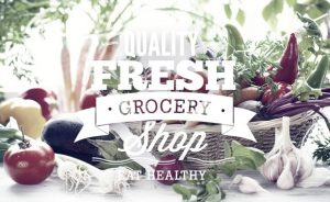 Food typographic elements Freebies health
