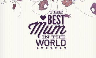Mother's day typographic elements Freebies heart
