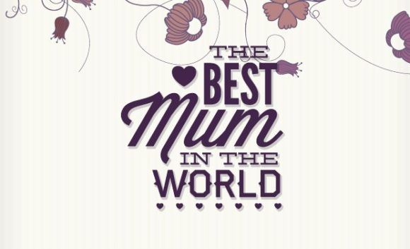 Mother's day typographic elements motherday preview