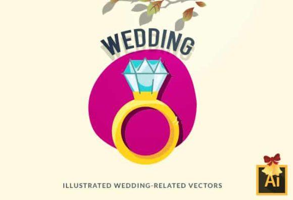 Wedding Vector Set vector wedding 2