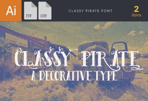 Classy Pirate Font Fonts font