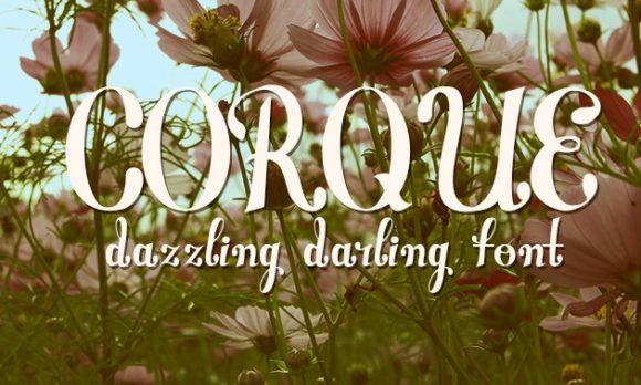Corque Font Corque preview small