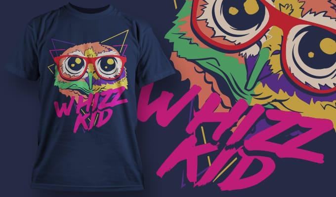 T-Shirt Design 1354 T-shirt designs and templates vector