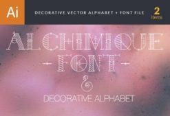 Alchimique Font Fonts font