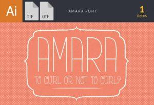 Amara Font Fonts font