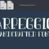 Aria Font fonts arpeggio small