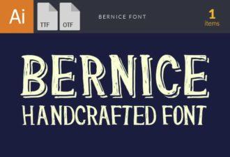Bernice Font Fonts font