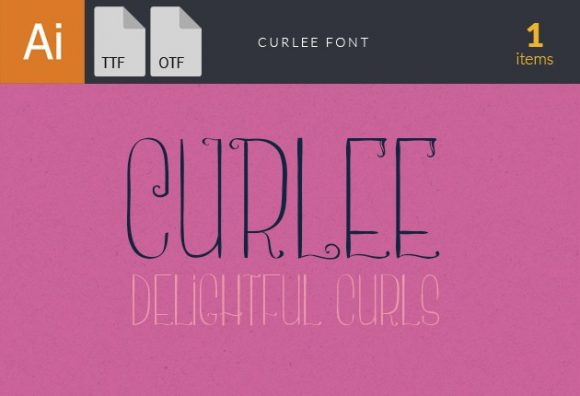 Curlee Font fonts curlee small
