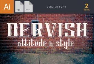 Dervish Font Fonts font
