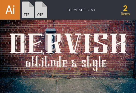 Dervish Font preview small 6