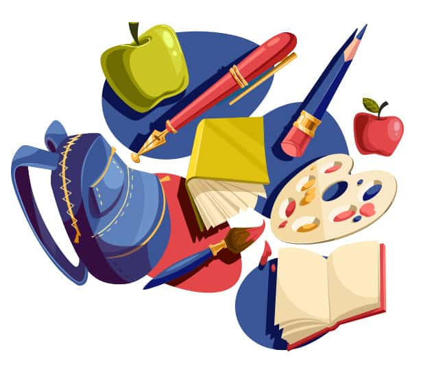 Back To School Vector Set vector backtoschool preview large
