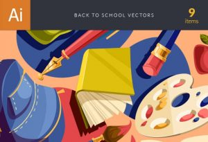 Back To School Vector Set Vector packs vector