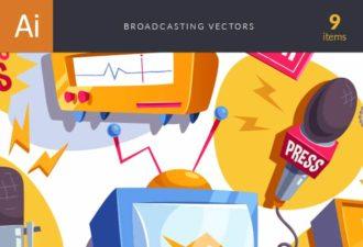 Broadcasting Vector Set Vector packs vector