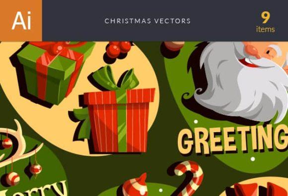 Christmas Vector Set Vector packs vector