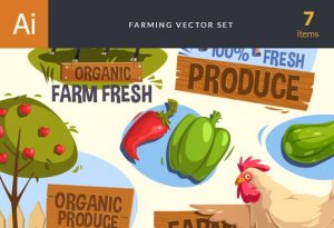 Farming Vector Set 2 Vector packs tree
