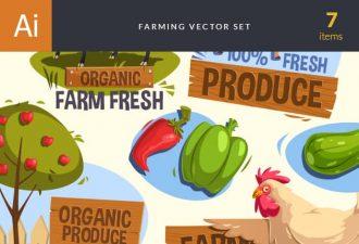 Farming Vector Set 2 Vector packs tree
