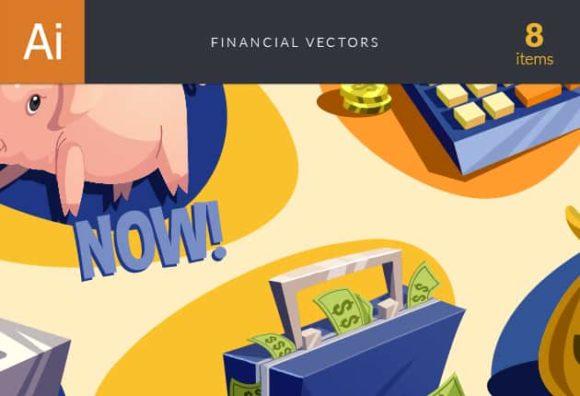 Financial Vector Set vector financial preview small