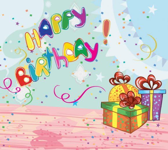 Kids, Birthday, Kids Eps Vector Kids Birthday Party Vector Illustration 01 08 2011 59