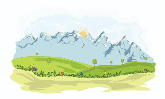 Background Vector Design Cartoon Background Vector Illustration 5