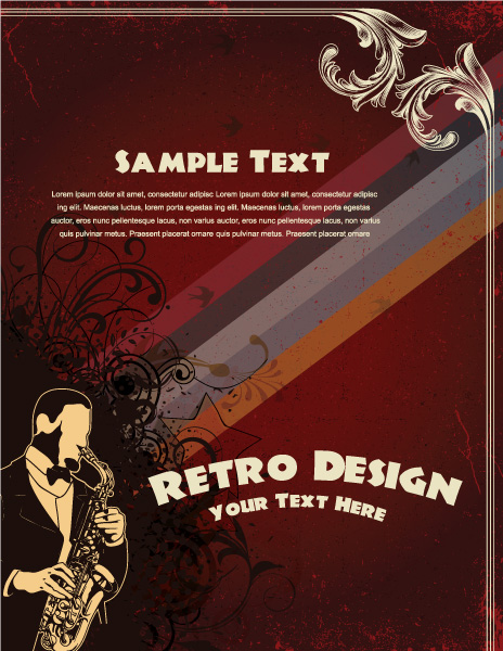 Poster, Concert Vector Design Vector Grunge Concert Poster 02 05 2011 58