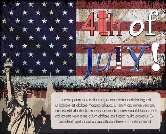 4th Of July Vector Illustration 05 05 2011 1