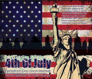 4th Of July Vector Illustration Vector Illustrations star