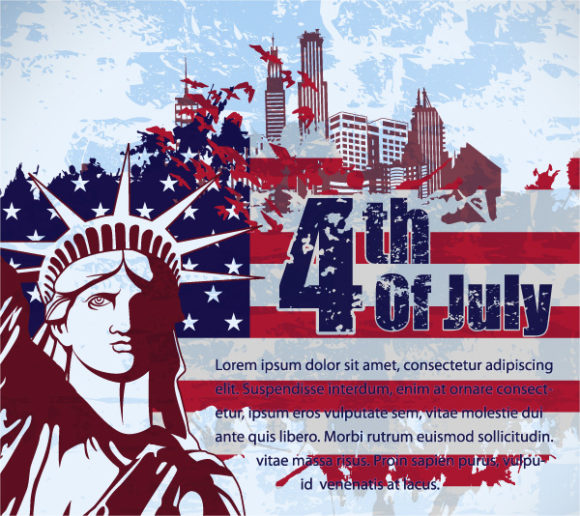 4th Of July Vector Illustration 05 05 2011 53
