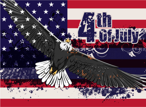 4th Of July Vector Illustration 05 05 2011 54