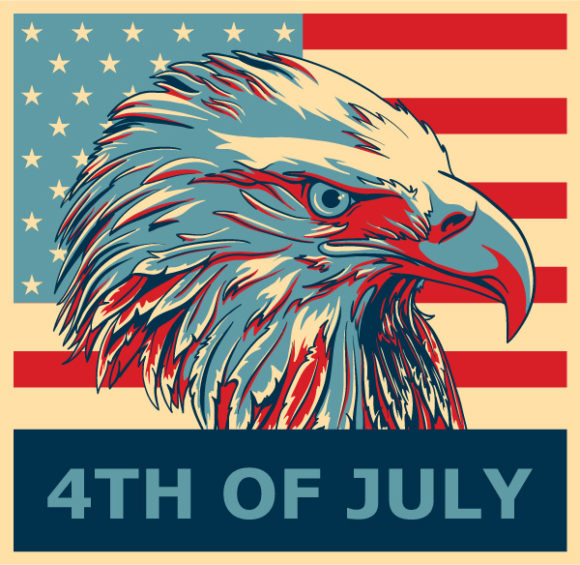 4th Of July Vector Illustration 05 05 2011 55