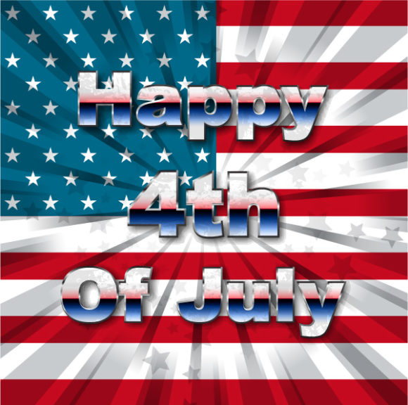 4th Of July Vector Illustration 05 05 2011 56