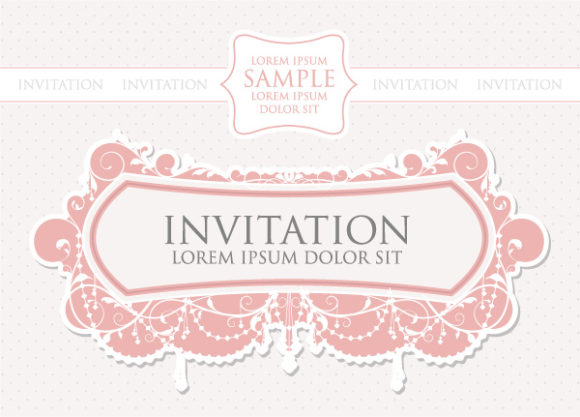 Vector, Vintage, Abstract-2 Vector Illustration Vintage Invitation Vector Illustration 06 05 2011 9