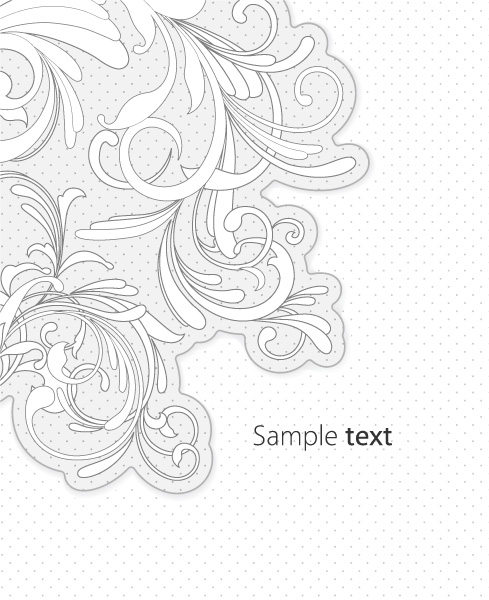 Special Creative Vector Background: Vector Background Abstract Floral Background 06 06 2011 66