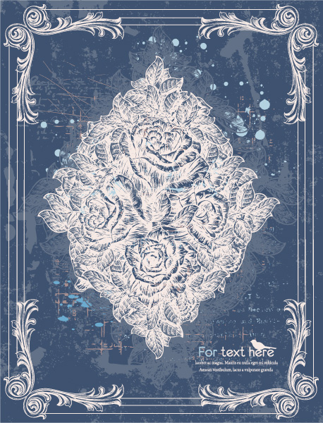 Flower Vector Illustration: Vintage Floral Background Vector Illustration Illustration 07 06 2011 69