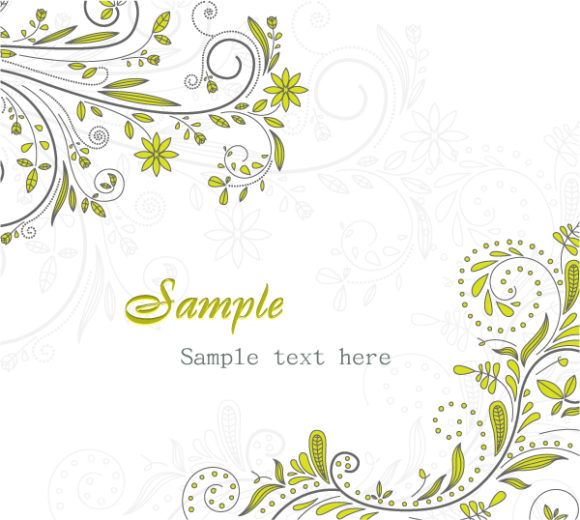 Vector Vector Illustration Vector Abstract Floral Background 08 04 2011 14