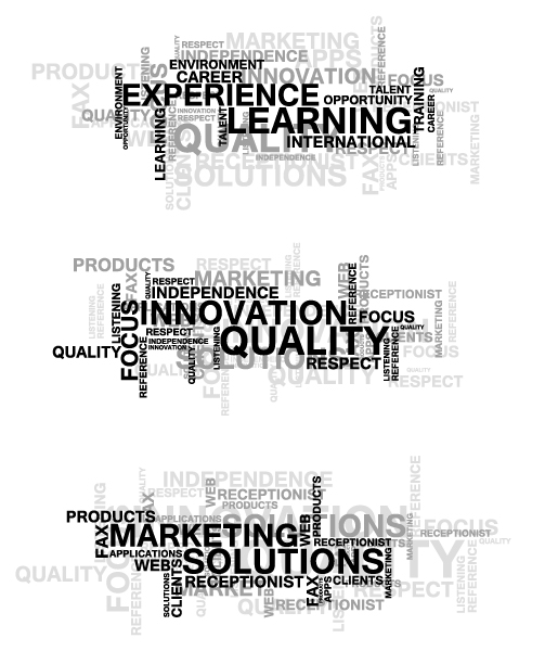 Set, Word, Abstract-2, Vector Vector Illustration Vector Business Word Clouds Set 08 04 2011 18