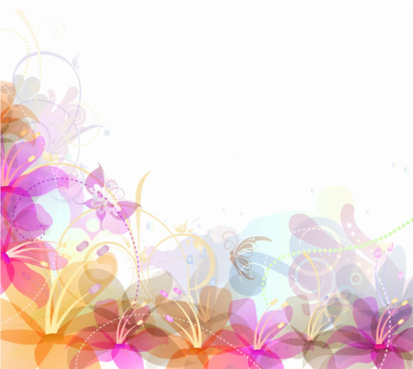 Vector Vector Image Vector Abstract Floral Background 5