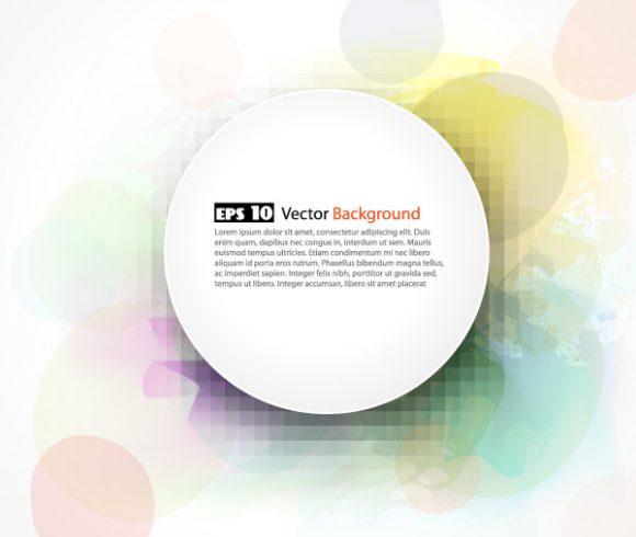 Lovely Illustration Vector Graphic: Colorful Frame Vector Graphic Illustration 5