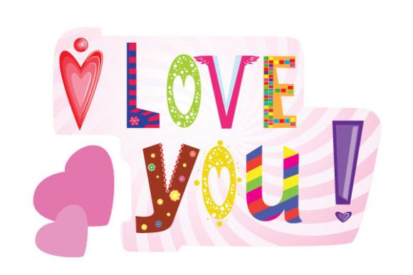 Lovely Vector Vector Art: Vector Art Valentines Day Illustration 5