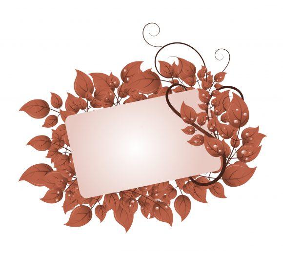 Frame, Grunge, Illustration Vector Illustration Grunge Floral Frame Vector Illustration 5