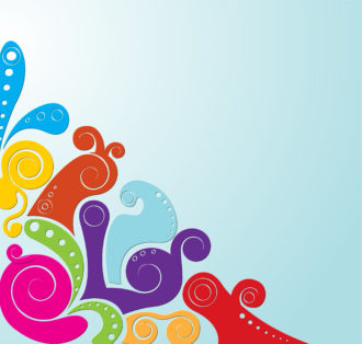 Vector Abstract Colorful Background Vector Illustrations vector