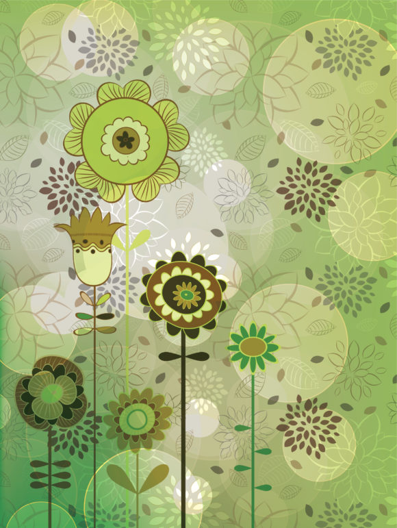 Illustration, Colorful, Vector Eps Vector Colorful Floral Background Vector Illustration 10 04 2010 74