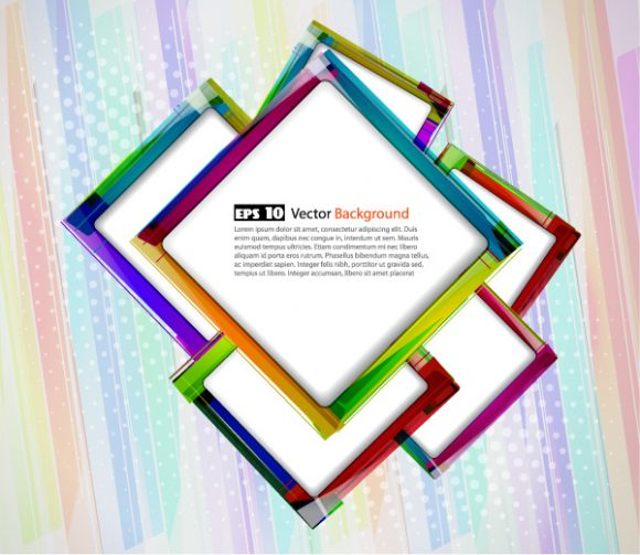 Abstract Vector Image: Vector Image Abstract Colorful Background 10 06 2011 57