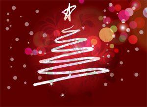 Christmas Greeting Card Vector Illustration Vector Illustrations star