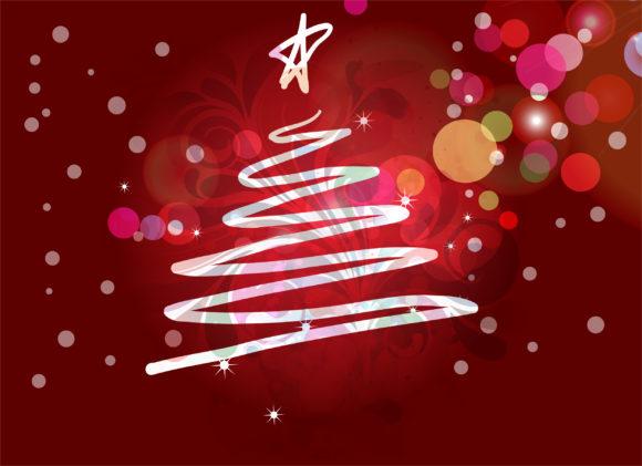 Illustration, Card, Illustration, Christmas Vector Art Christmas Greeting Card Vector Illustration 10 12 2010 8