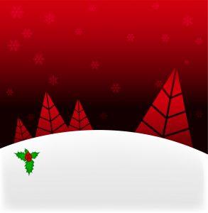 Winter Background Vector Illustration Vector Illustrations tree