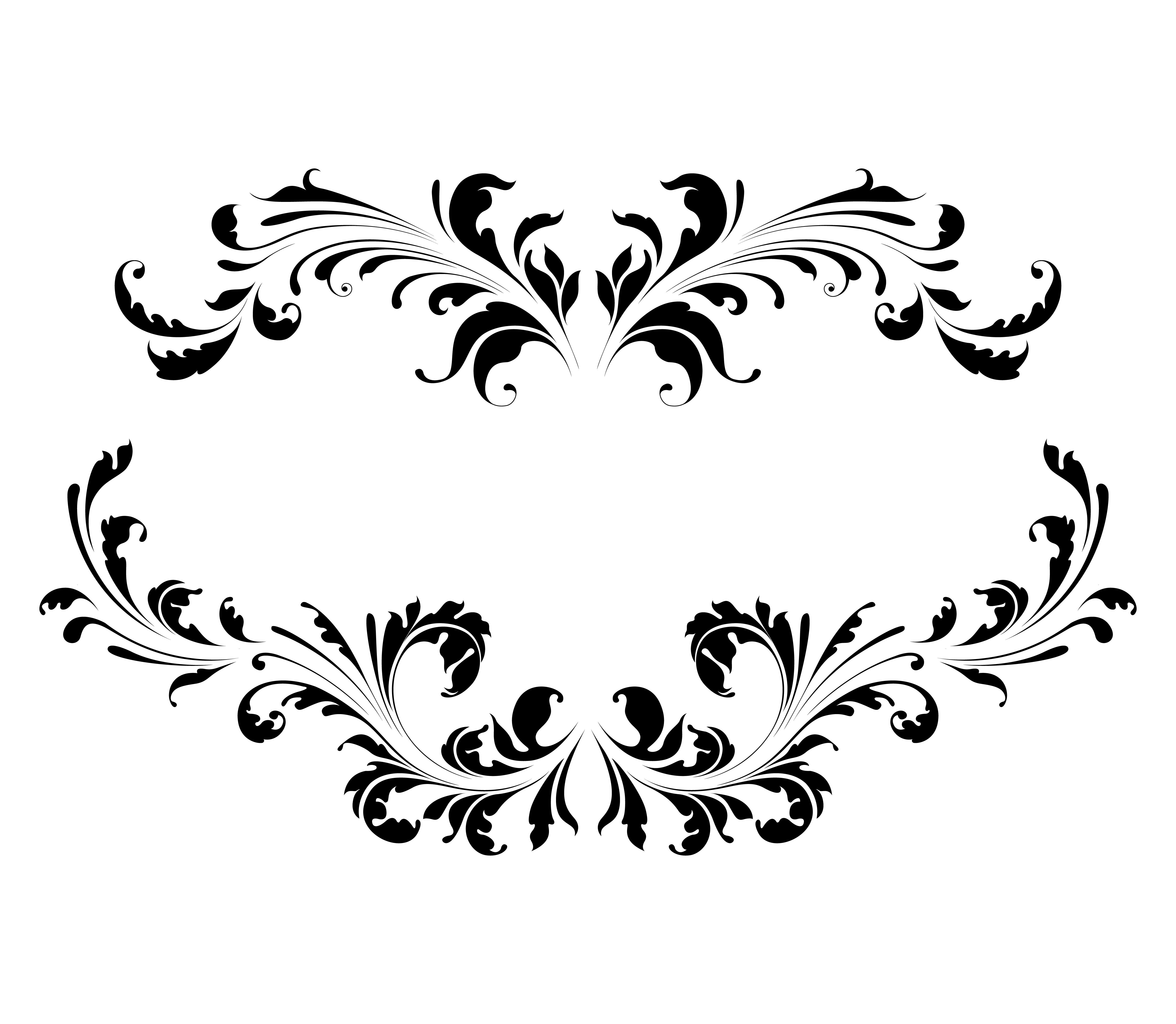 Vintage Floral Frame Vector Illustration Designious