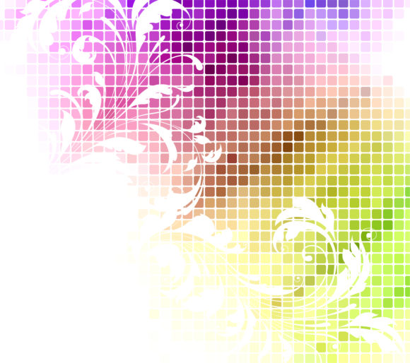Vector Vector: Abstract Floral Background Vector Illustration 10 18 2010 61