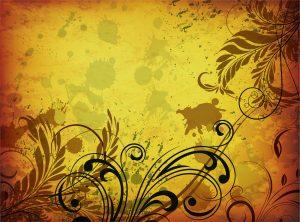 Vector Grunge Vintage Floral Background Vector Illustrations old