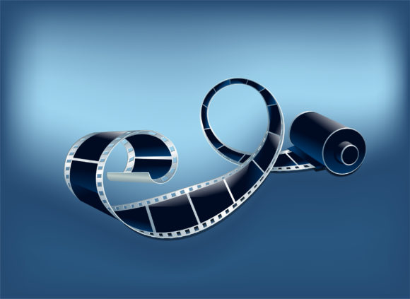 Film Vector Background Film Strip Vector Illustration 10 26 2010 51